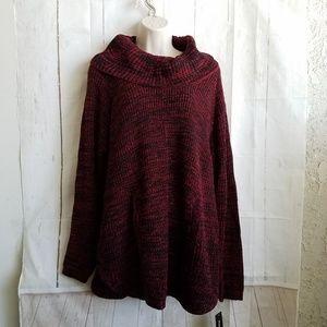 Style & Co Tunic Sweater Petite Large